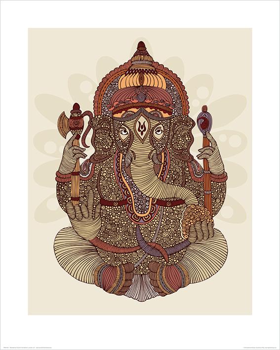 Valentina Ramos (Ganesha) Art Prints