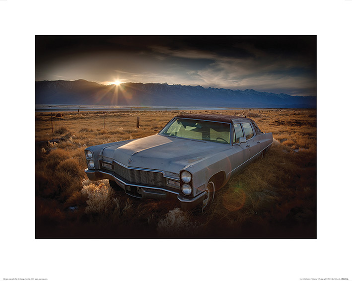 Rod Edwards (Last Light - Keeler, California) Art Prints