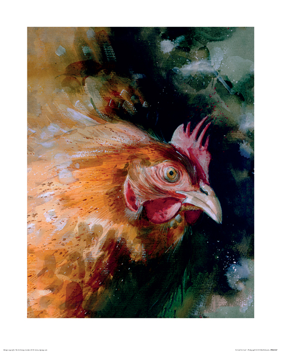 Simon Howden (Brown Chicken) Art Print