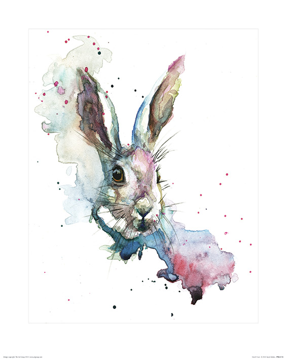 Sarah Stokes (March Hare) Art Prints