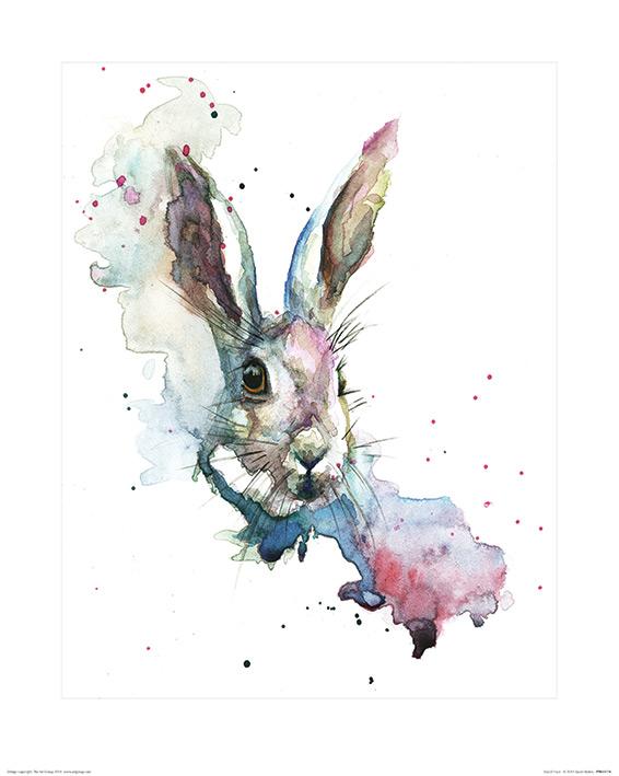 Sarah Stokes (March Hare) Art Print