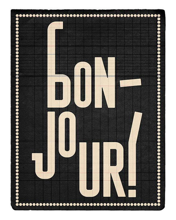 Edu Barba (Bonjour) Art Print
