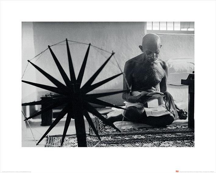 Time Life (Gandhi) Art Print