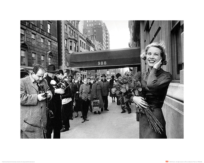 Time Life (Grace Kelly - New York) Art Prints