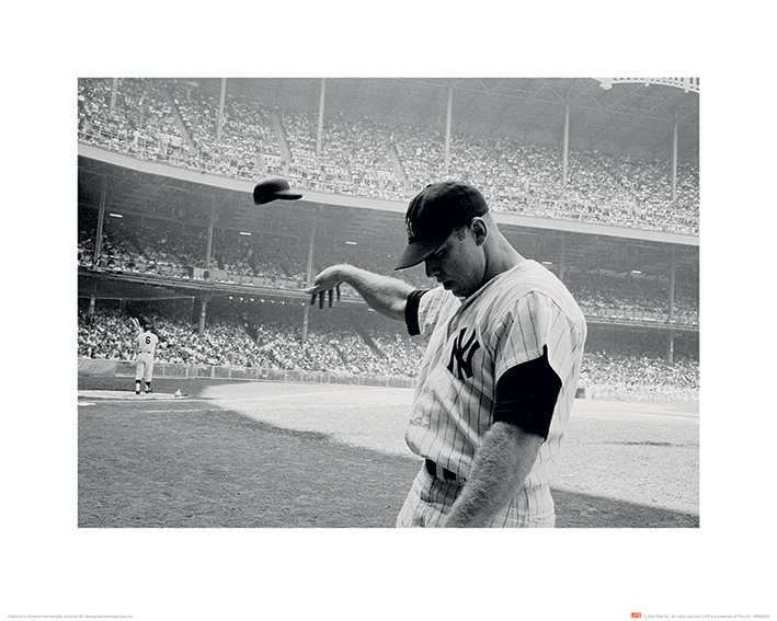 Time Life (Mickey Mantle 1965) Art Prints