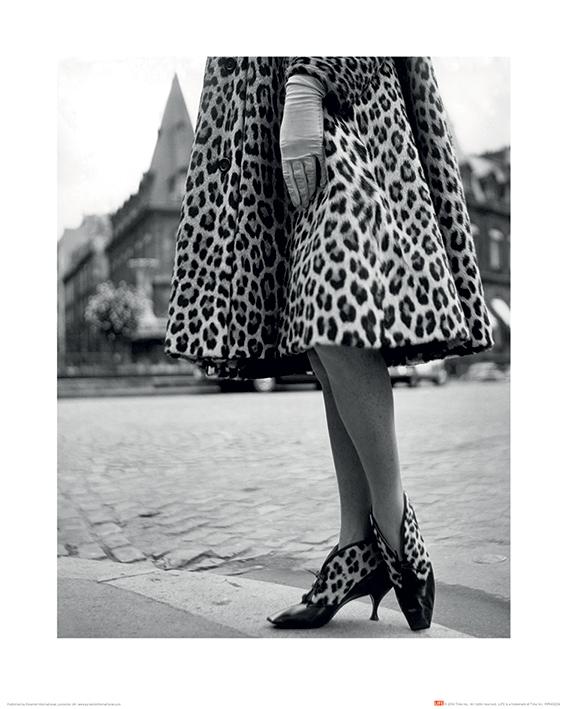 Time Life (Dior Leopard Print) Art Print