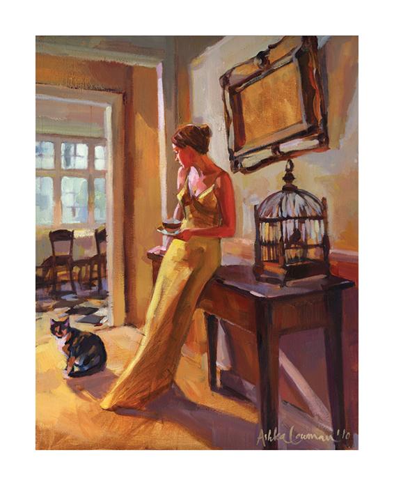 Ashka Lowman (Autumn Gold II) Art Prints