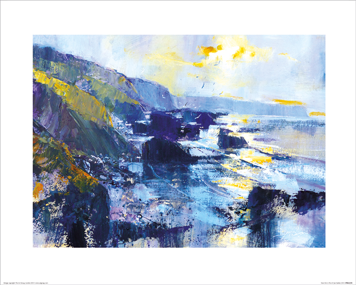 Chris Forsey (Tregardock Beach, December) Art Prints