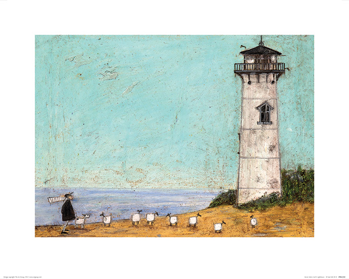 Sam Toft (Seven Sisters And A Lighthouse) Art Prints