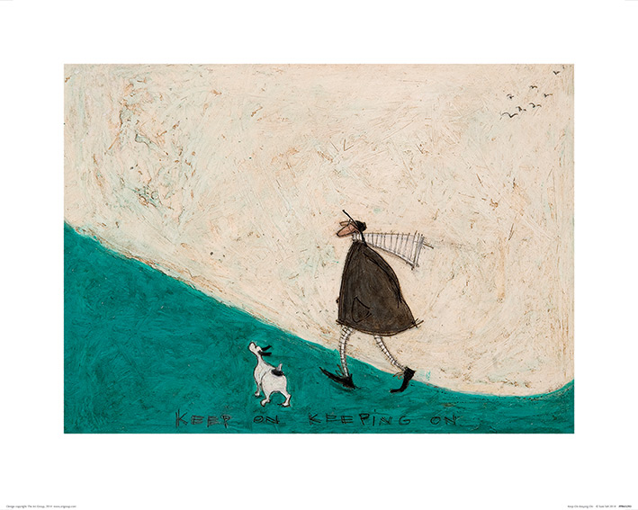 Sam Toft (Keep On Keeping On) Art Print