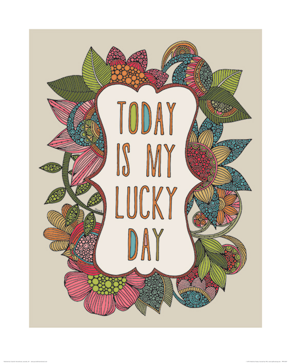 Valentina Ramos (Today is my Lucky Day) Art Print
