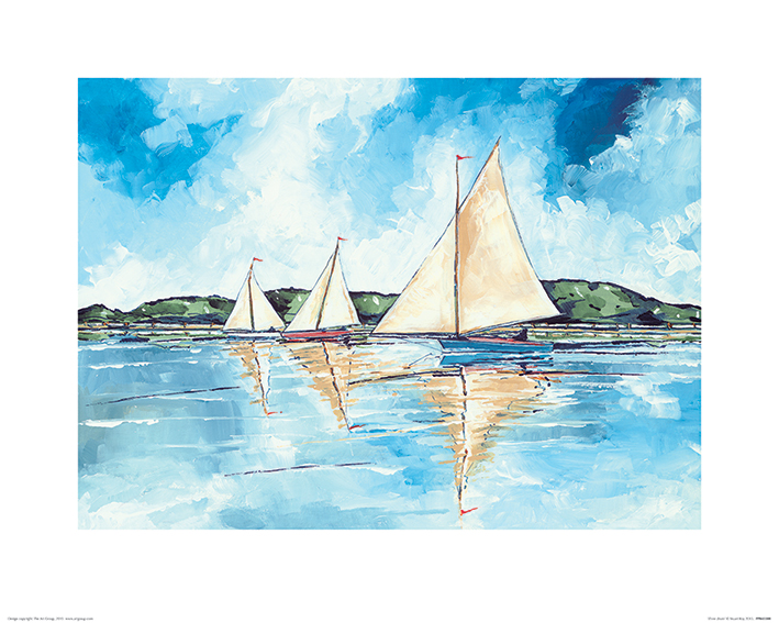 Stuart Roy (Three Boats) Art Print