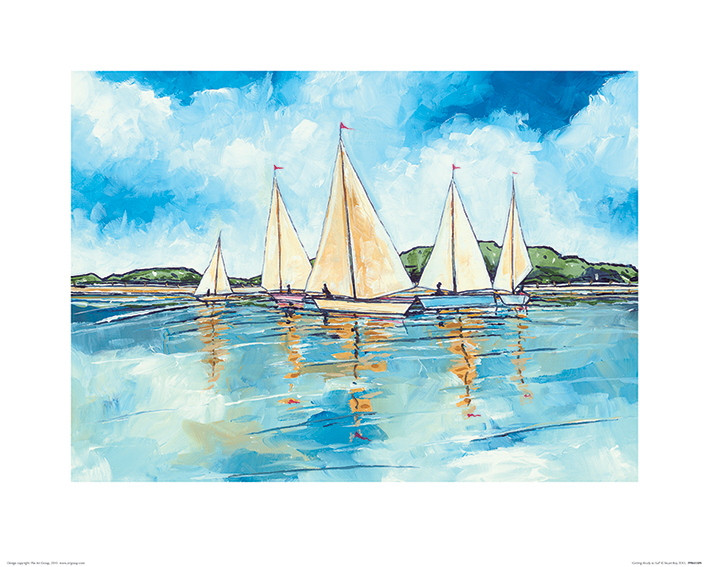Stuart Roy (Getting Ready to Sail) Art Prints