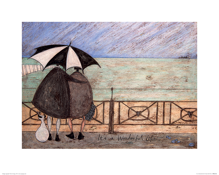 Sam Toft (It's a Wonderful Life) Art Print