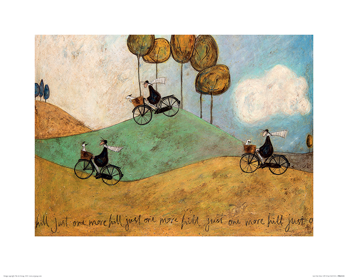 Sam Toft (Just One More Hill) Art Print