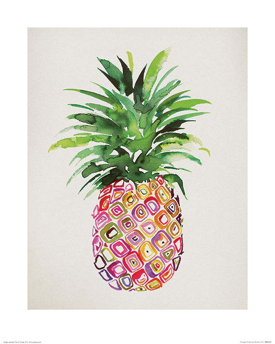 Summer Thornton (Pineapple) Art Prints