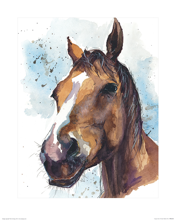 Sarah Stokes (Copper Blaze) Art Print