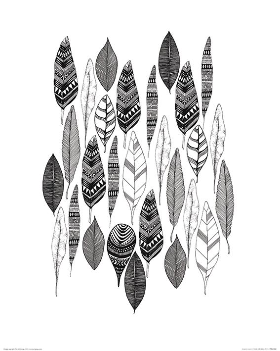 Sofie Rolfsdotter (Autumn Leaves) Art Print
