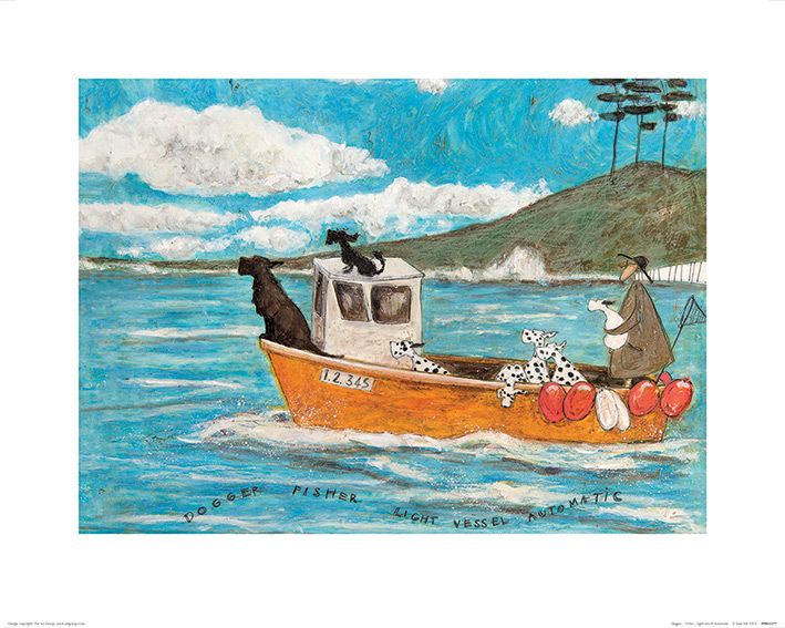 Sam Toft (Dogger, Fisher, Light Vessel Automatic) Art Print