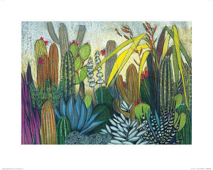 Shyama Ruffell (Succulents) Art Prints