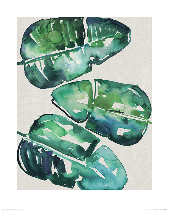 Summer Thornton (Banana Leaves) Art Prints