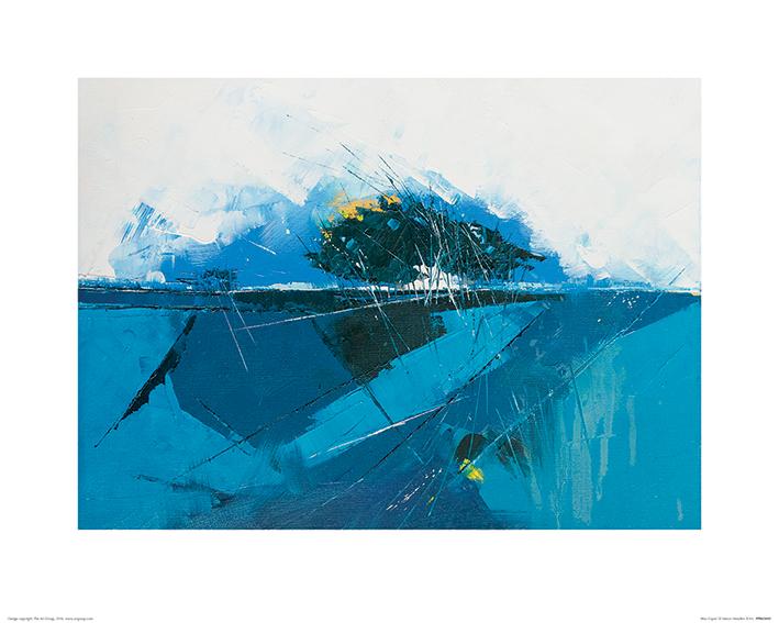 Simon Howden (Blue Copse) Art Prints