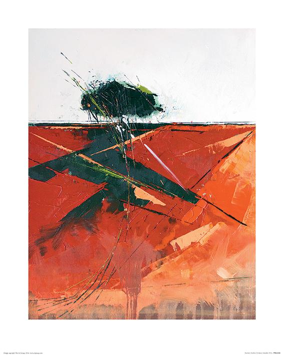 Simon Howden (Bracken Shadow) Art Print