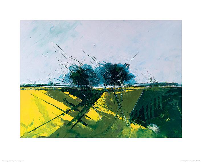 Simon Howden (Rape Field Edge) Art Print