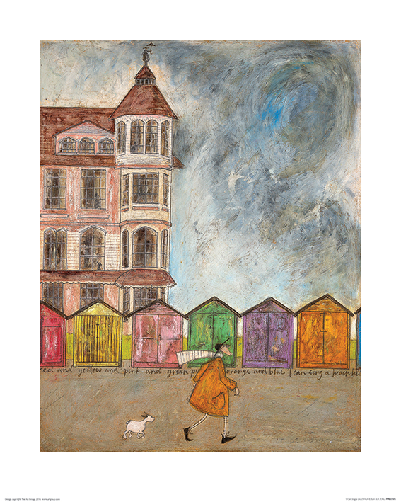 Sam Toft (I Can Sing a Beach Hut) Art Prints