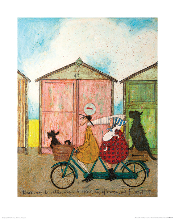 Sam Toft (There may be Better Ways to Spend an Afternoon but I Doubt it) Art Print