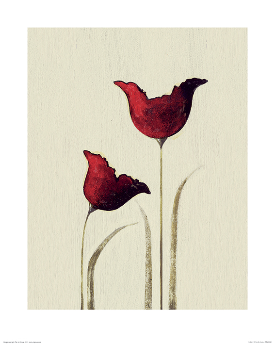 Nicola Evans (Tulips I) Art Prints