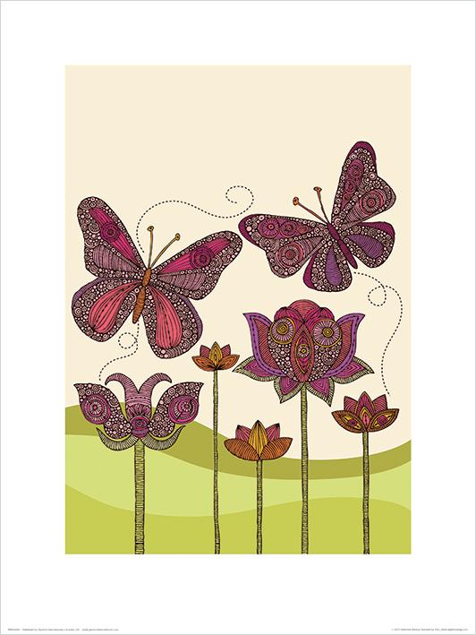 Valentina Ramos (Butterflies) Art Prints