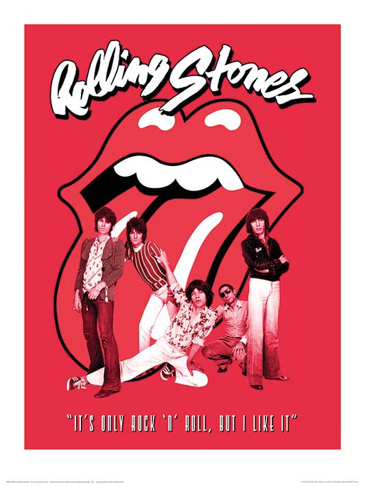 Rolling Stones (It's Only Rock n Roll) Art Prints