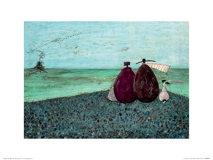 Sam Toft (The Same as it Ever Was) Art Print