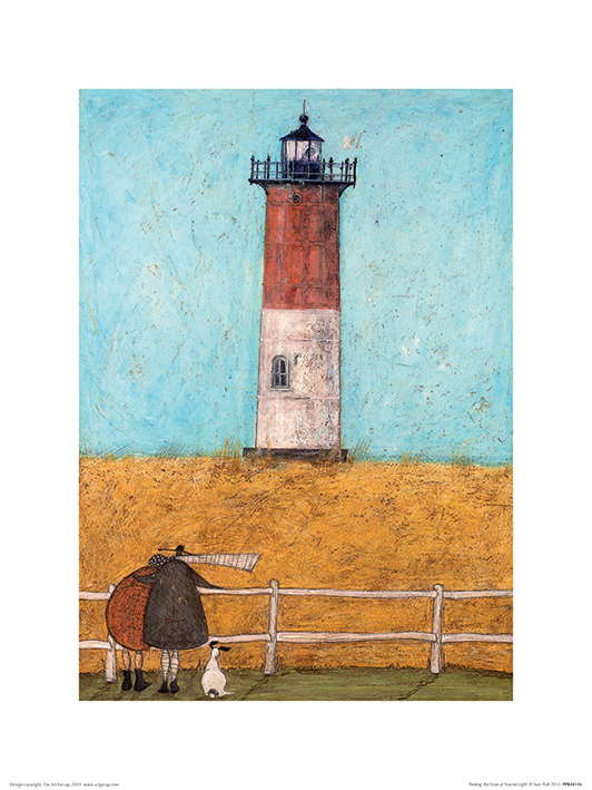 Sam Toft (Feeling the Love at Nauset Light) Art Print