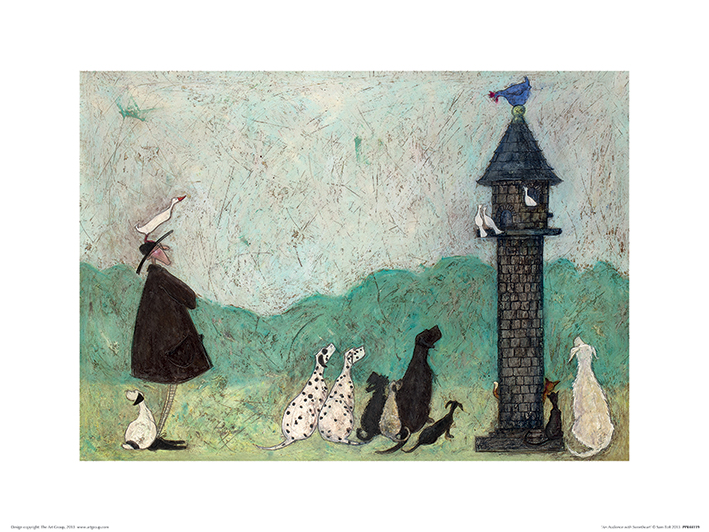 Sam Toft (An Audience with Sweetheart) Art Print