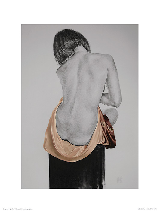 T. Good (Silk In Mocha) Art Print