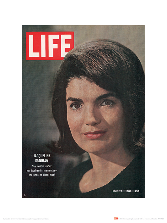 Time Life (Jackie Kennedy - Cover 1964) Art Prints