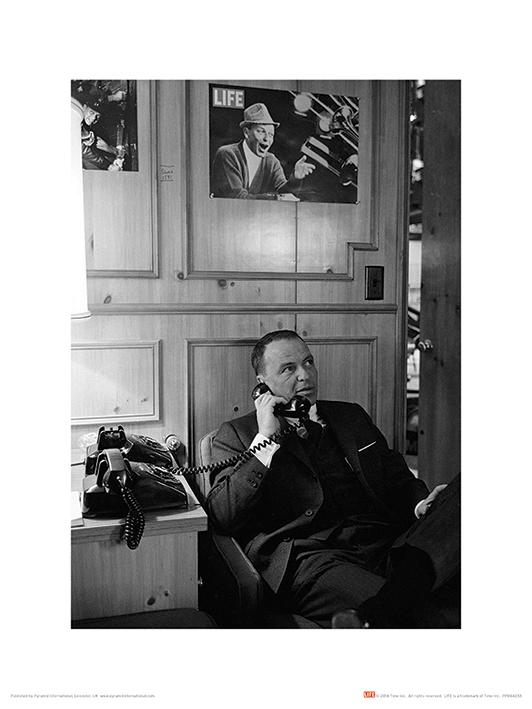 Time Life (Frank Sinatra - Phone) Art Print
