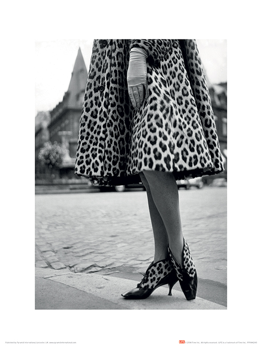 Time Life (Dior Leopard Print) Art Prints