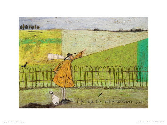 Sam Toft (Let's Take The Bus To Somewhere New) Art Prints