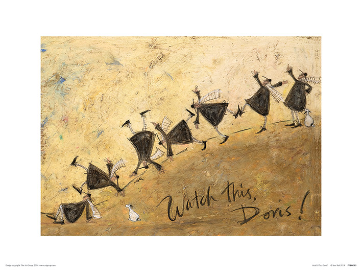 Sam Toft (Watch This, Doris!) Art Prints