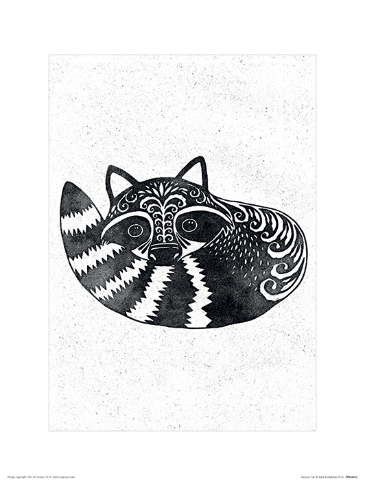 Sofie Rolfsdotter (Racoon Tail) Art Prints
