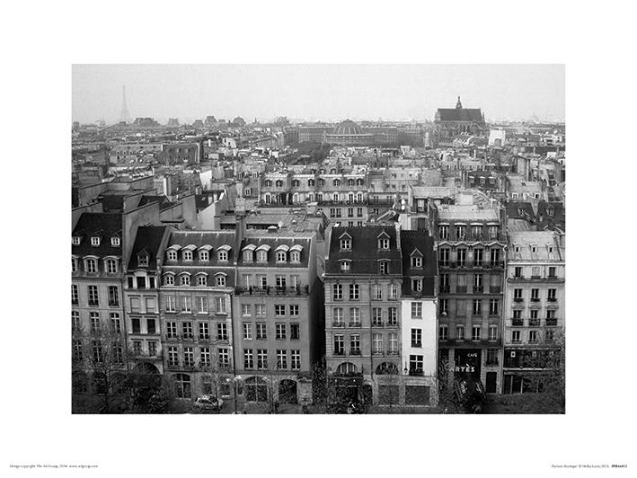 Heiko Lanio (Parisian Rooftops) Art Prints