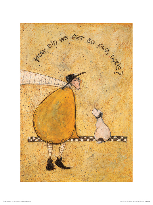 Sam Toft (How Did We Get So Old, Doris?) Art Prints