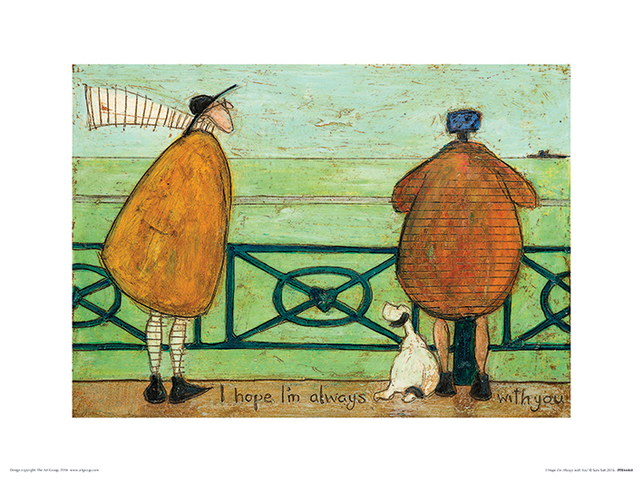 Sam Toft (I Hope I'm Always with You) Art Print