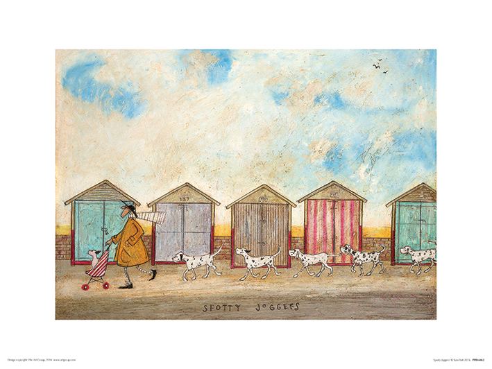 Sam Toft (Spotty Joggers) Art Prints