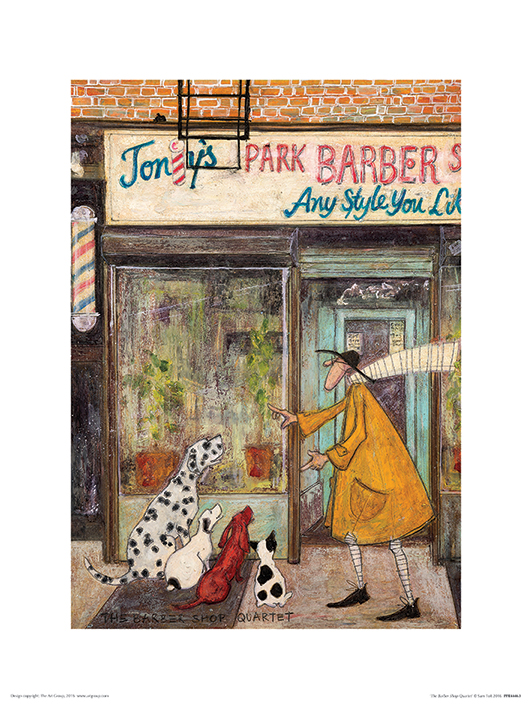 Sam Toft (The Barber Shop Quartet) Art Prints
