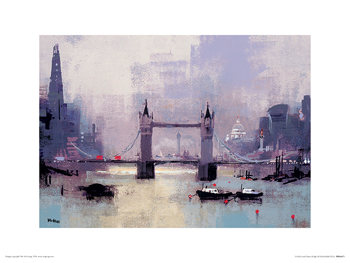 Colin Ruffell (St Paul's and Tower Bridge) Art Print