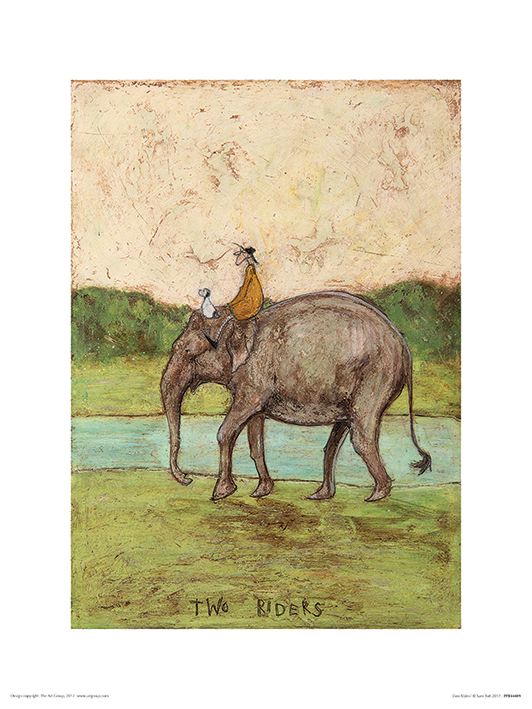 Sam Toft (Two Riders) Art Prints